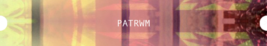 Hysbyseb/advert Patrwm