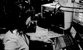 woman working in a control room